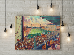 valley parade   canvas a2 size